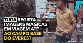 Português regista IMAGENS MÁGICAS na Viagem até à Base do EVEREST