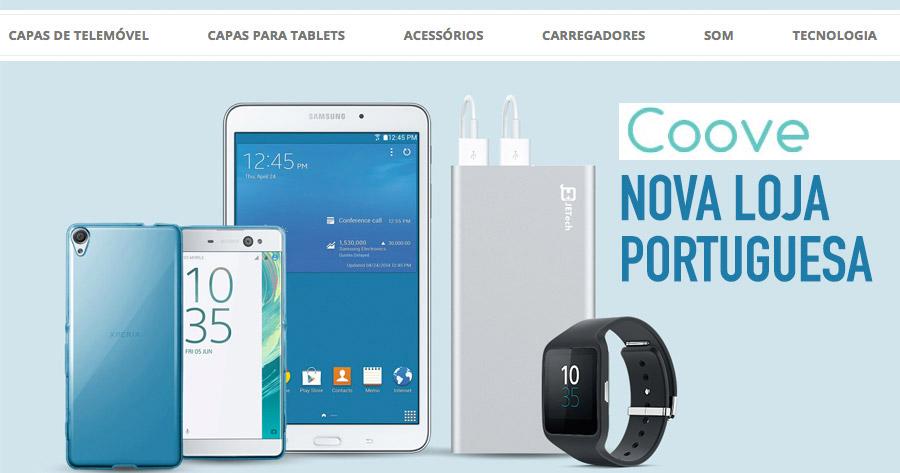 COOVE: Nova loja portuguesa de acessórios para telemóvel e eletrónica
