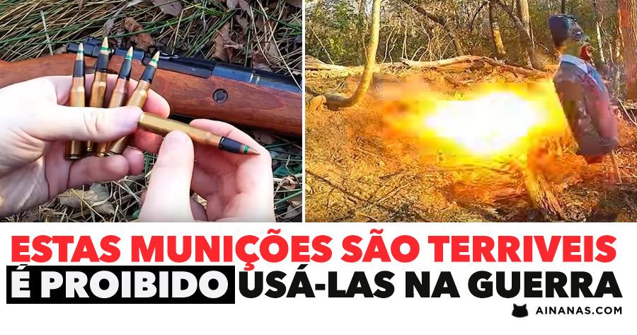 Estas balas são TÃO TERRIVEIS que é proibido usá-las na guerra