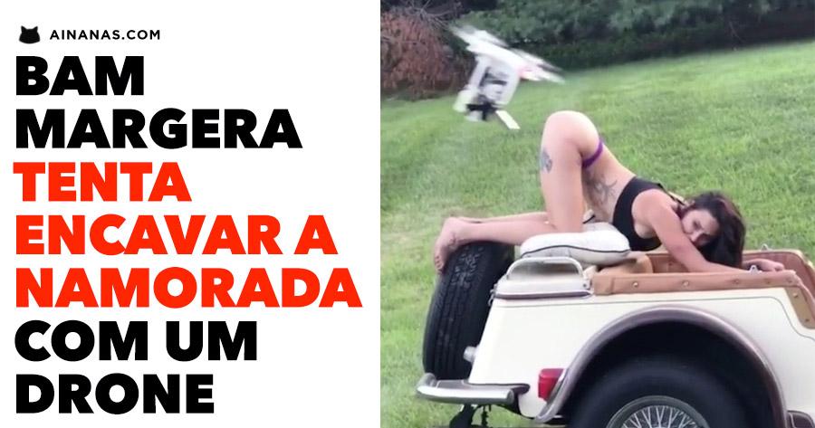 Bam Margera tenta Aterrar um Drone na PASSARECA DA NAMORADA