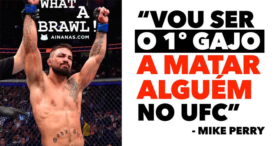 """""""Vou ser o primeiro gajo a MATAR ALGUÉM no UFC"""""""