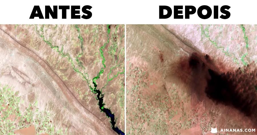 TOP 20: Mudanças Dramáticas Reveladas pela NASA