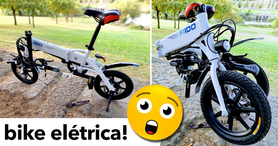 FIIDO D1: Bicicleta elétrica compacta a um preço incrível