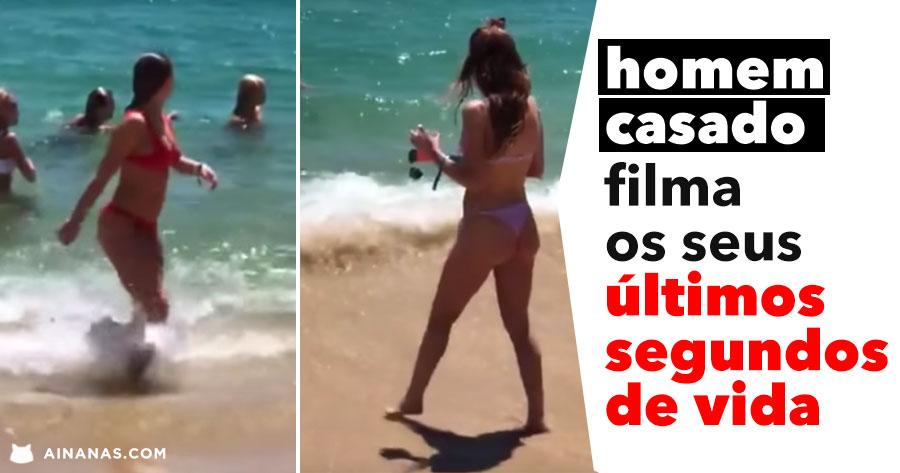 HOMEM CASADO filma os seus últimos segundos de vida