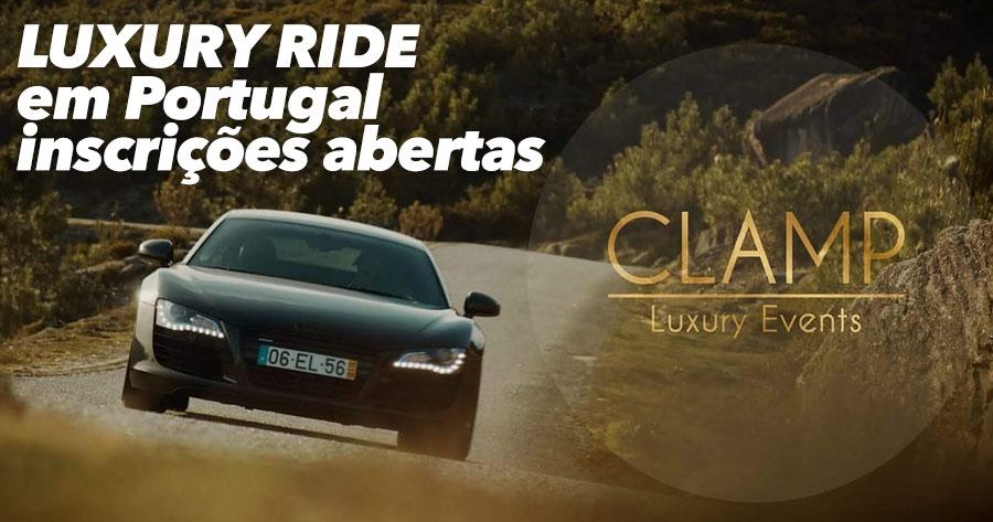Vem aí EVENTO DE LUXO para quem gosta de carros, convívio, noite e glamour!