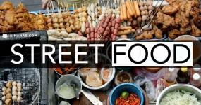 STREET FOOD: Petiscos de Rua à Volta do Mundo