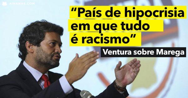 ANDRÉ VENTURA diz que os que defendem MAREGA são Hipócritas