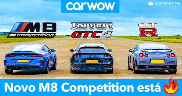 Novo BMW M8 Competition está Incrível 🔥