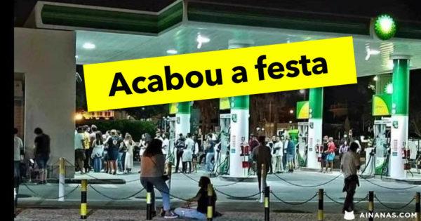 """Câmara de Cascais acaba com as """"Festas na Bomba de Gasolina"""""""