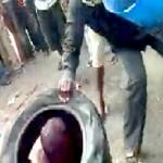 Homem Torturado e Morto Publicamente em África