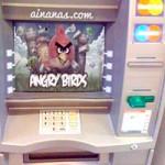 Hackers Russos Instalam Angry Birds no Multibanco