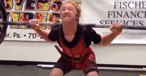 5 recordes do mundo de Powerlifting.. aos 14 anos