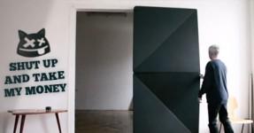 Designer austríaco reinventa a porta