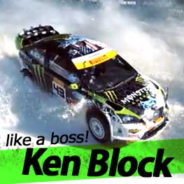 Ken Block + GoPro + Russia = EPIC WIN