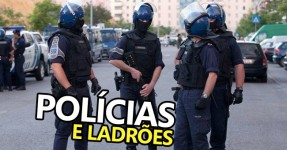 3 Polícias e 1 Militar em Gang de Assaltantes