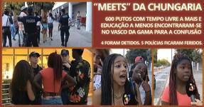 Meeting no Vasco da Gama Acaba em Desacatos