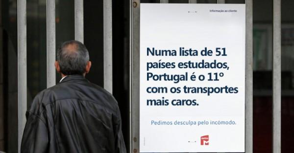 Portugal Entre Países com Transportes Mais Caros