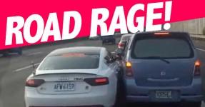 ROAD RAGE: Dois Condutores Lutam pela Mesma Via