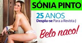 Sónia Pinto: Gatinha de 25 Anos Despe-se para Revista J