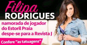 Filipa Rodrigues Despe-se Para a Revista J