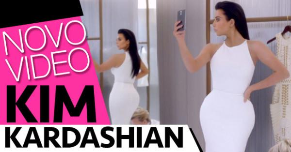 KIM KARDASHIAN e o seu Culossal Talento em NOVO VIDEO