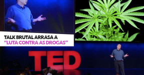 "TED Talk Brutal Arrasa a ""Luta contra as Drogas"""