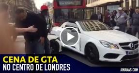 GTA no Centro de Londres entre condutores de BMW