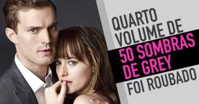 50 SOMBRAS DE GREY: Quarto Livro Foi Roubado