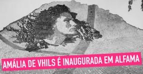 Amália de Vhils é inaugurada em Alfama