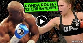 Ronda Rousey Manda FLAMES a Floyd Mayeather