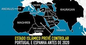 Estado Islâmico Prevê Controlar Portugal e Espanha nos Próximos 5 Anos