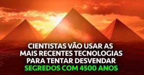 Tecnologia de Ponta para Tentar (Finalmente) Perceber as Pirâmides