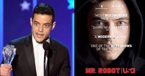 MR ROBOT: Rami Malek Conquista Critics' Choice Award 2016