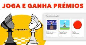 JOGA E GANHA PRÉMIOS com o 2 Queen's Games