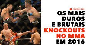 MMA: Os melhores KNOCKOUTS de 2016 num só video
