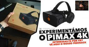 PIMAX 4K: óculos de realidade virtual