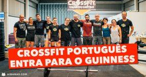 Crossfit Português entra para o Guinness