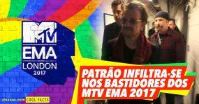 PATRÃO infiltra-se nos Bastidores dos Prémios da MTV