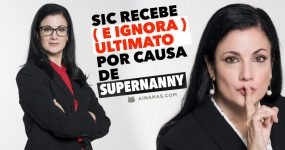 SIC recebe ( e ignora ) ultimato por causa de SUPERNANNY