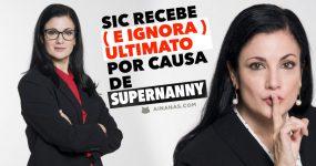 SIC recebe ( e ignora ) ultimato por causa de SUPERNANNY