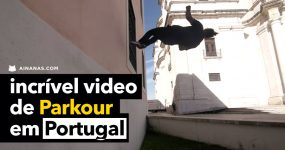 Video épico de PARKOUR em Portugal