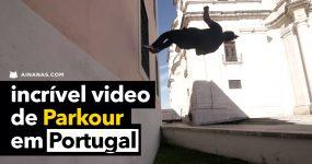 Video épico de PARKOUR em Portugal