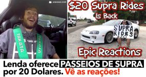Lenda oferece PASSEIOS DE SUPRA por 20 Dolares