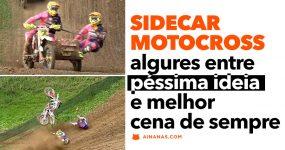 SIDECAR MOTOCROSS: bizarro mas brilhante