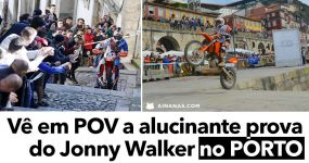 JONNY WALKER: Mestre do Enduro dá Show no PORTO