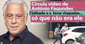 ANTÓNIO FAGUNDES leva chapada numa bomba de gasolina.. só que não era ele!