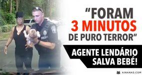 """""""Foram 3 minutos de PURO TERROR"""" Agente Lendário Salva Bebé!"""