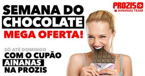 Semana do CHOCOLATE com Ofertas Exclusivas na Prozis