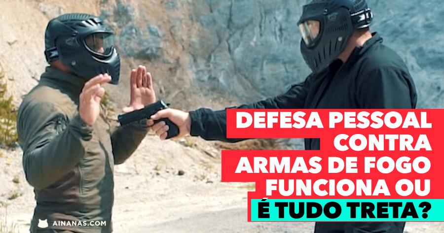 Dá para usar técnicas de defesa pessoal contra ARMAS DE FOGO?