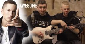 OMG: 2 Gajos 1 Guitarra… Abusam de RAP GOD (Eminem) em Apenas 1 Take